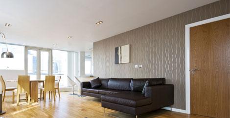 decorative interior design – feature walls, wall paper, furniture